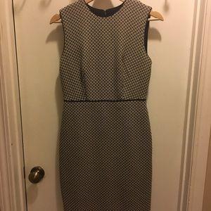 Ann Taylor patterned dress, size 0